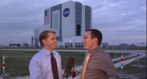 George Schellenger and Tim Bailey at NASA KSC