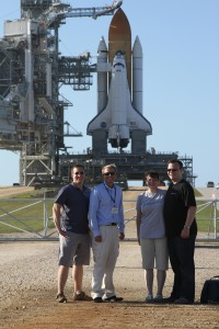 SpaceTaskForce and SpaceVidCast with Space Shuttle Atlantis
